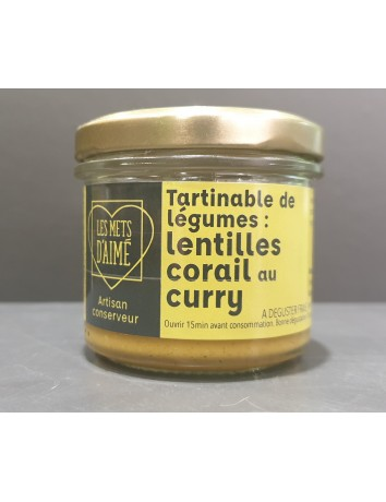TARTINABLE LENTILLE CURRY...