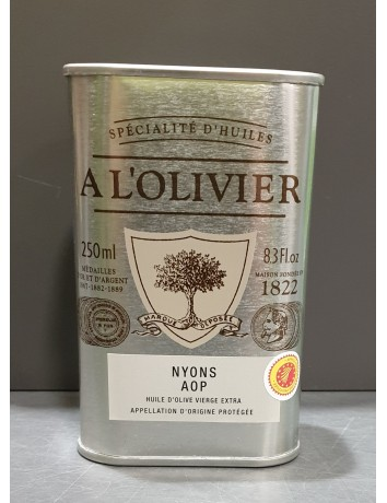 HUILE OLIVE NYONS AOP 250 ML