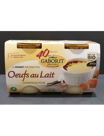 OEUFS AU LAIT BIO TRADITION...