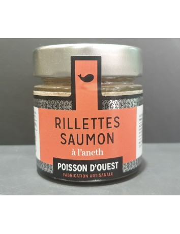RILLETTES SAUMON ANETH 90GR