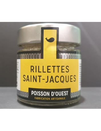 RILLETTES SAINT - JACQUES 90gr