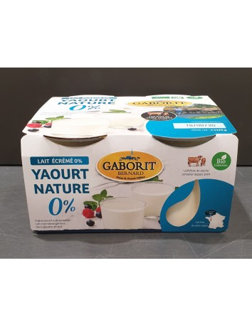 YAOURT NATURE BIO 0%MG -...