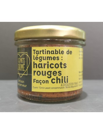 TARTINABLE HARICOTS ROUGES...