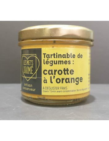 TARTINABLE CAROTTE ORANGE 90G