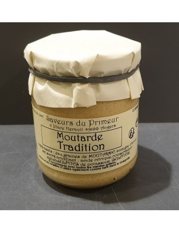 MOUTARDE TRADITION  200G